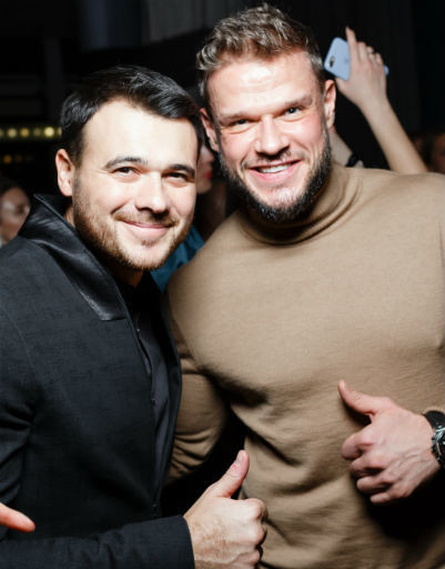 Эмин и Владимир Яглыч
