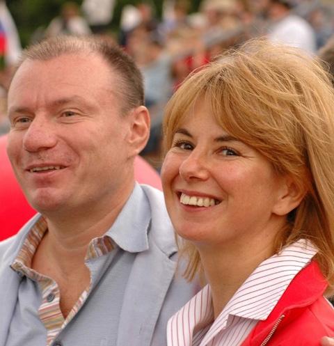 Владимир и Наталия Потанины