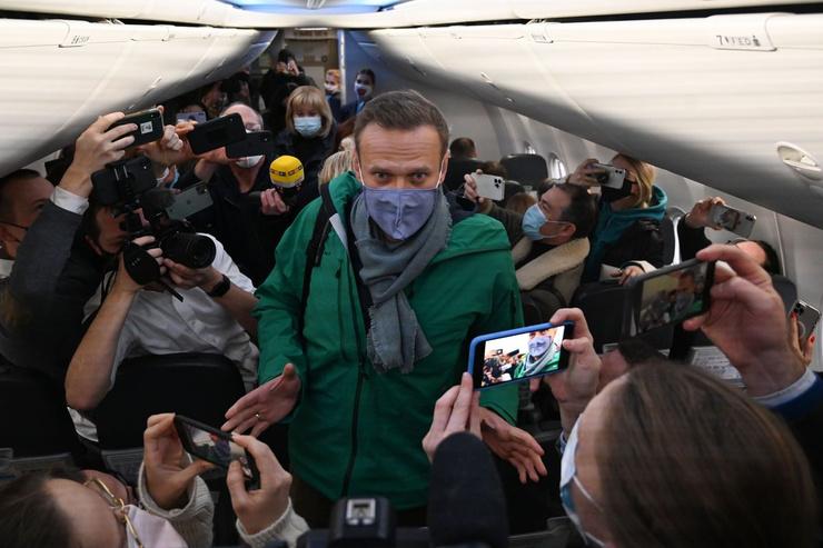 Недавно Алексей Навальный вернулся из Германии