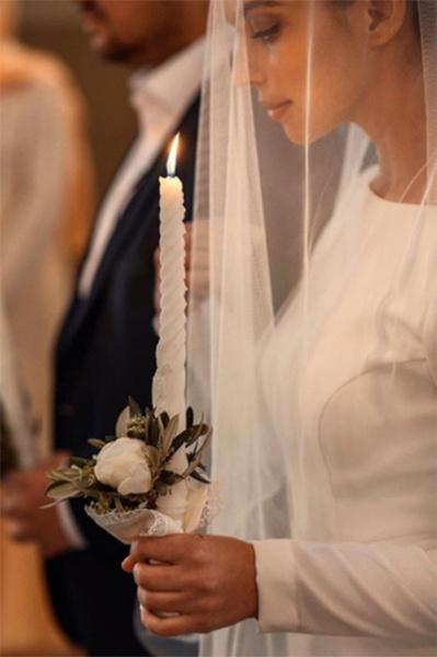 Сергей Жуков и Регина Бурд обвенчались после десяти лет брака