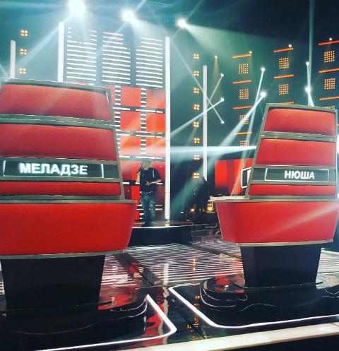 В эфир шоу выйдет в середине февраля. Кресла судей
