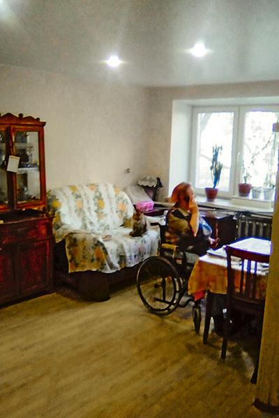 Хозяйка была счастлива, что ее жилье обновили впервые за 30 лет