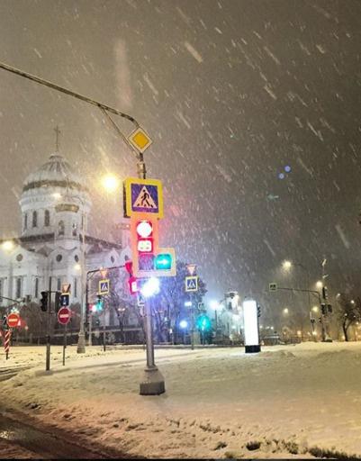 Ольга Свиблова сфотографировала центр Москвы