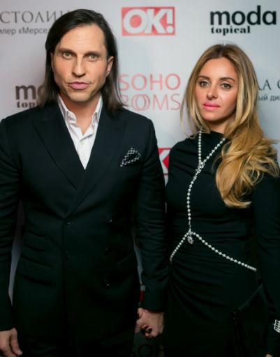 Александр Ревва с женой Анжеликой