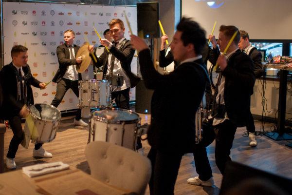 Группа барабанщиков Vasiliev Groove