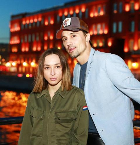 Анна Белан с братом Димой Биланом