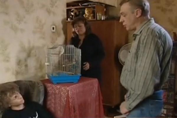 Юлия и сын Степан снимались вместе с Александром в эпизоде сериала «Улицы разбитых фонарей»