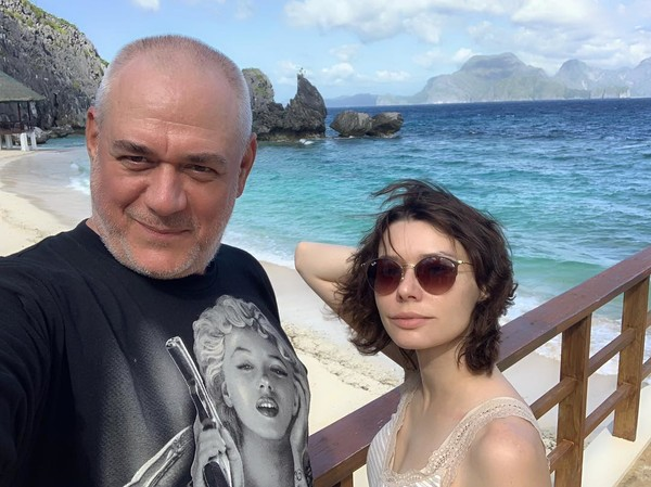 Юлия выполнила волю Сергея: развеяла его прах над Крымом
