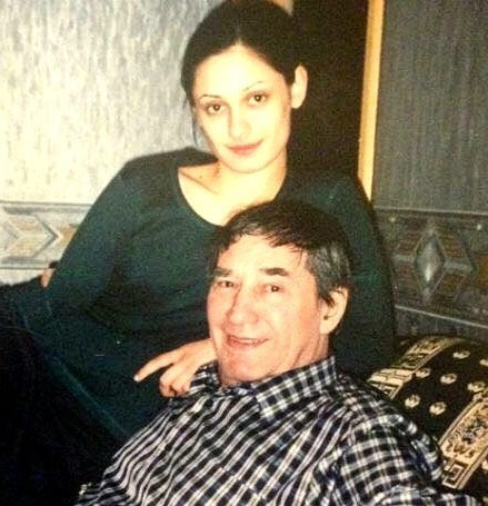 Карина Мишулина со знаменитым папой
