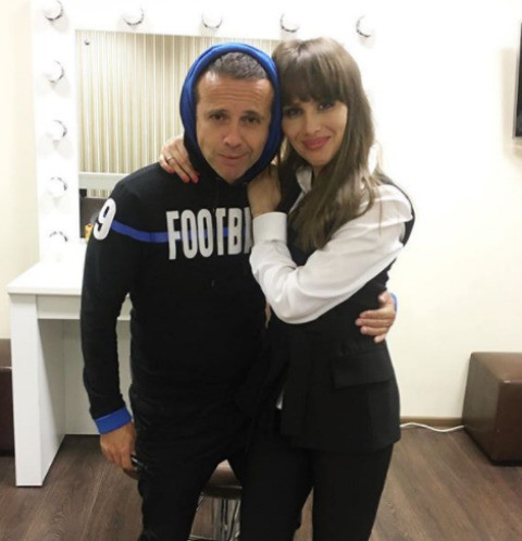 Андрей Губин и Юлия Беретта