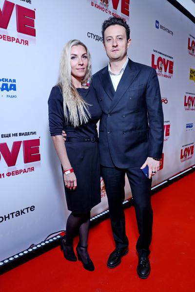 Станислав Ярушин с женой Аленой