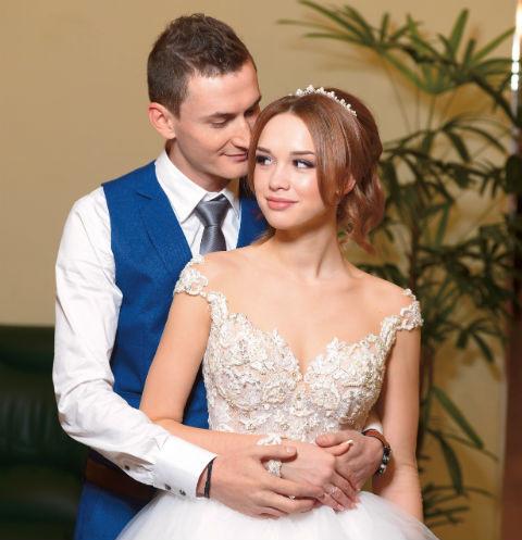 Диана Шурыгина в день свадьбы
