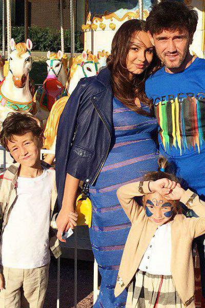 Инна и Юрий Жирковы с детьми