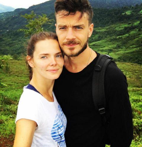 Елизавета Боярская и Максим Матвеев на отдыхе в Грузии