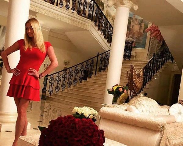 Балерина часто демонстрирует в своем микроблоге убранство особняка