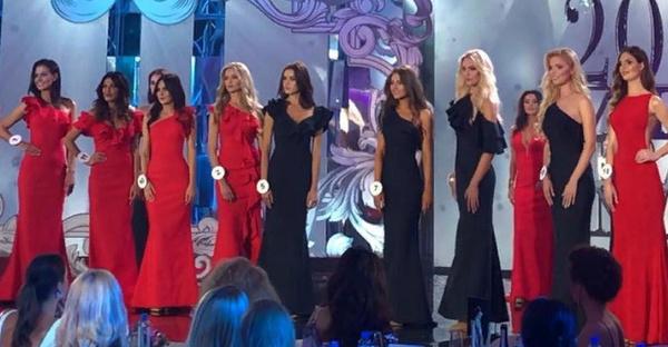 Девять финалисток конкурса, среди которых были и Дурицкая, и Беляева