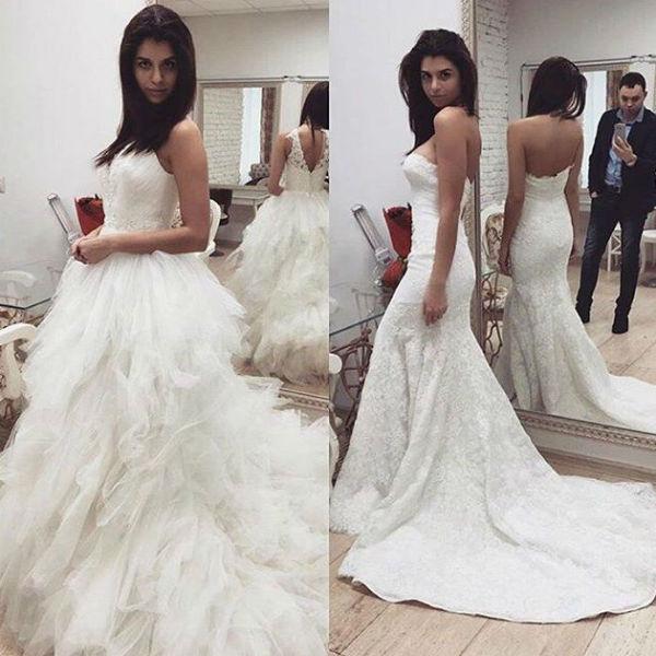 Алиана выбирает свадебное платье