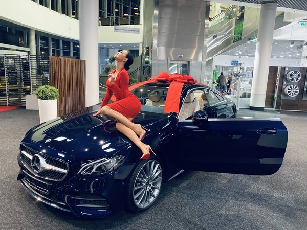 Новое авто Романец стоит пять миллионов рублей