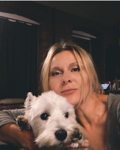 Для Трояновой собака Эми стала верным другом и ангелом-хранителем