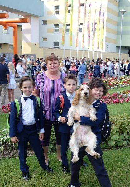 В сентябре дети Марии Болтневой пошли в третий класс