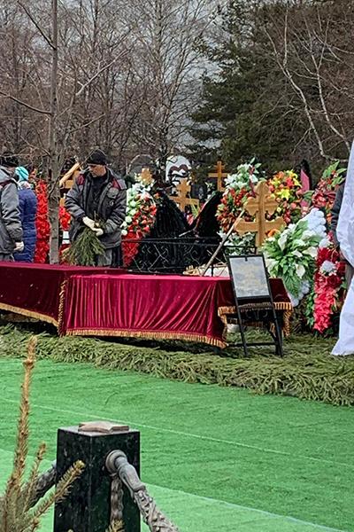 Место, где будет похоронена Юлия Началова