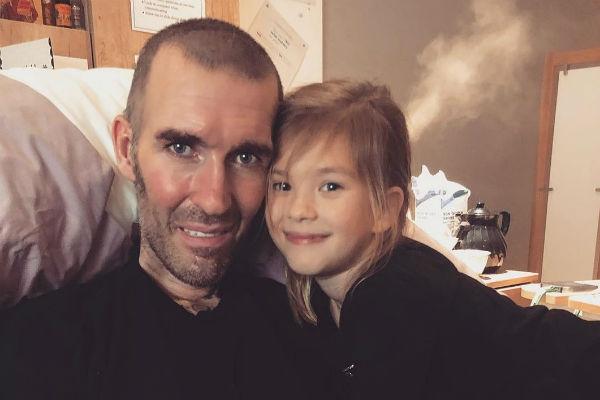 Риксен заболел, когда его дочери Изабелле был всего год