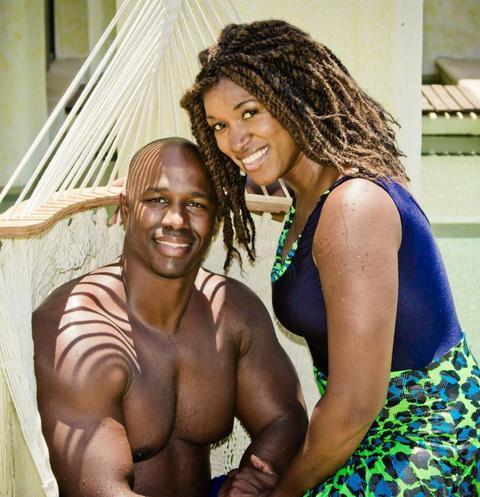 Антонио Армстронг и его жена Доун