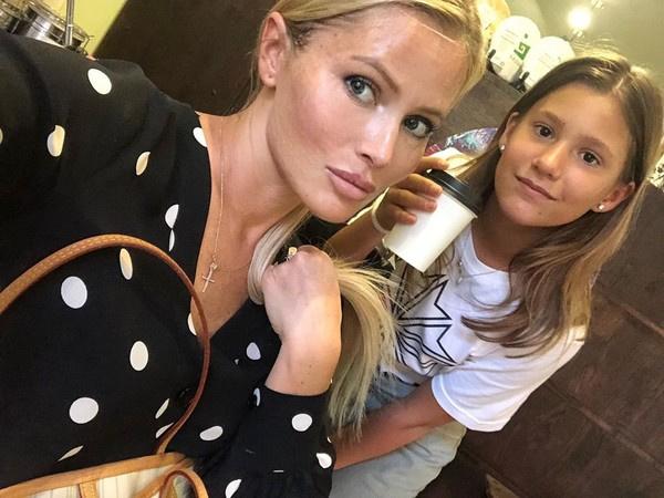 Дана Борисова старается все свободное время уделять дочери