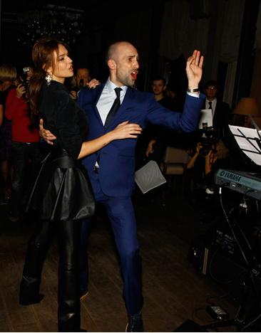 Женя и Алена не забывают о совместных танцах