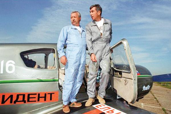 Юрий Николаев много раз брал с собой вторым пилотом Леонида Якубовича