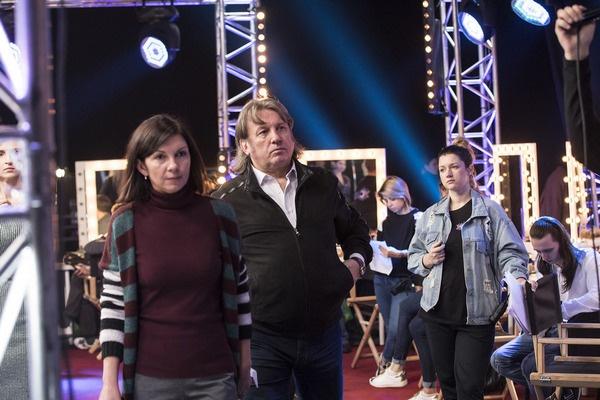 Юрий Лоза на  съемках шоу «Успех»