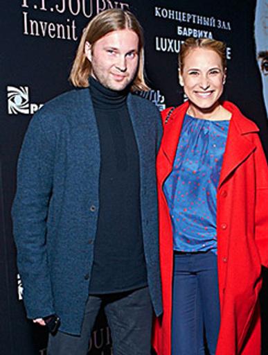Марика с мужем Сергеем