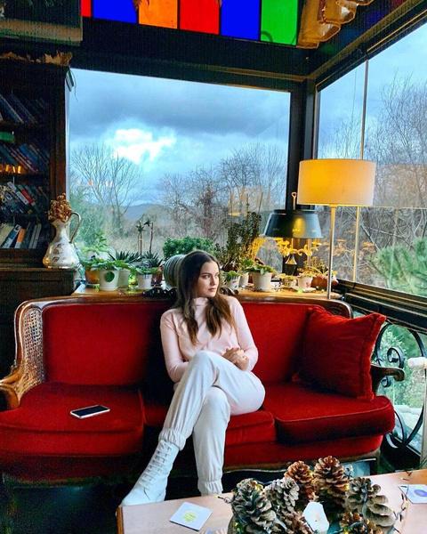 Актриса сама выбирала мебель для дома вместе с мужем