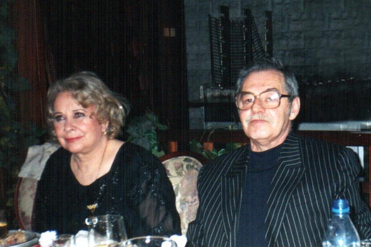 Главным мужчиной в жизни Миансаровой стал Марк Фельдман