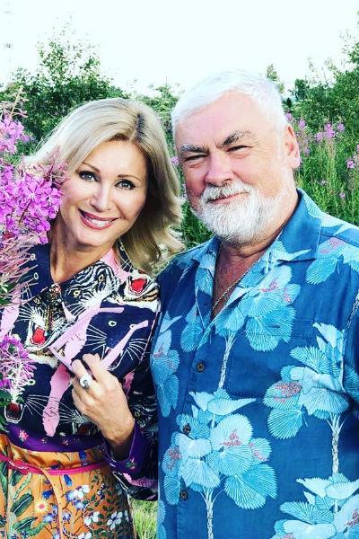 Певица и ее супруг во всем поддерживают друг друга