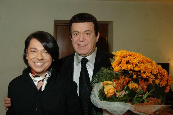 Иосиф Кобзон и Валентин Юдашкин