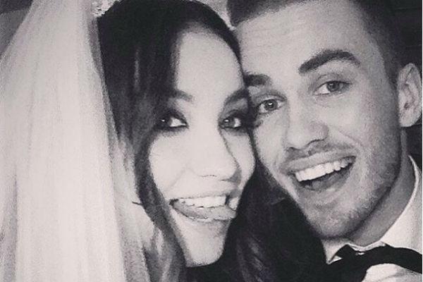 Виктория Дайнеко и Дмитрий недавно отметили год супружеской жизни