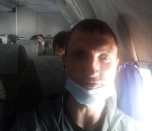 Один из пассажиров самолета Иван Сивак опубликовал в личном блоге фото перед вылетом