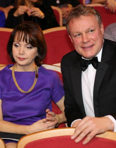 Сергей Жигунов с супругой