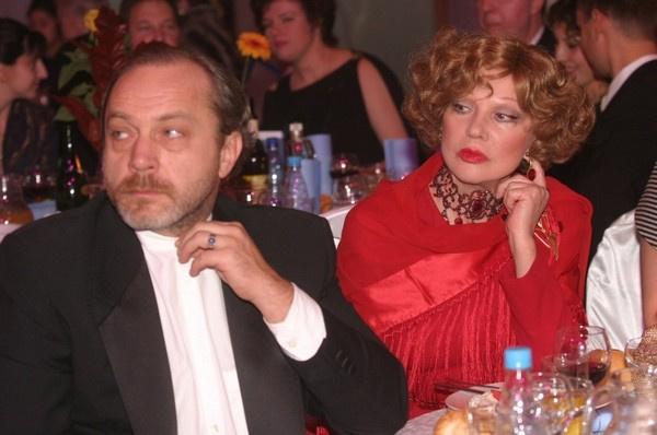 Людмила Гурченко и Сергей Сенин