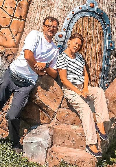 Ринат Арифуллин с женой