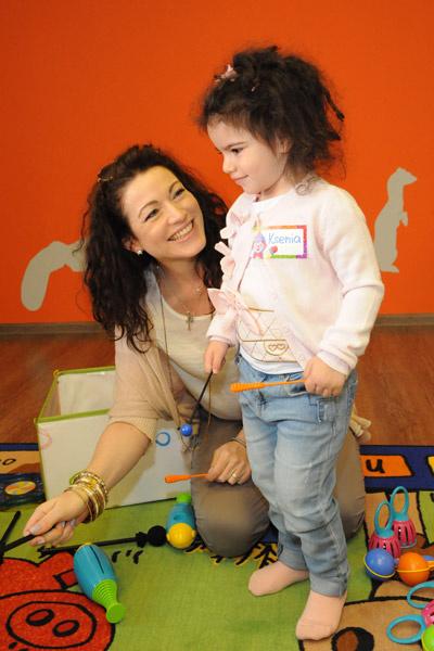 Алена Хмельницкая с дочерью Ксенией