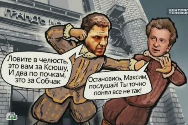 Драка Максима Виторгана с Константином Богомоловым стала основой для комикса