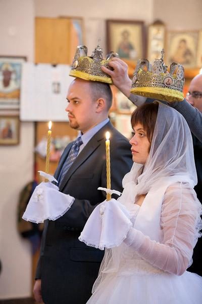 Пытаясь спасти брак, Наталия и Максим обвенчались в 2010 году
