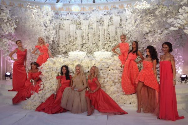 Подружки невесты с дизайнером Юлией Прохоровой