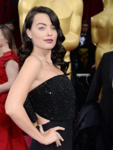 """Марго Робби брюнетка на """"Оскаре""""."""