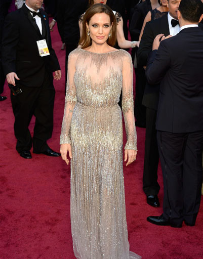 Анджелина Джоли в Elie Saab Haute Couture