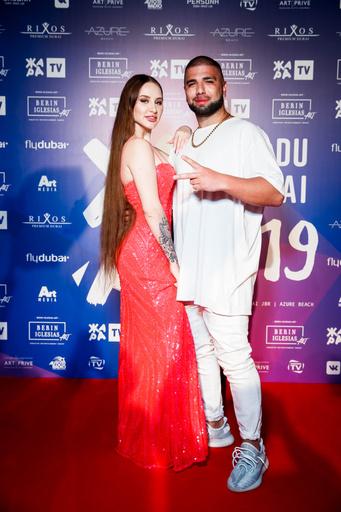 Певица Asti и Артем Качер