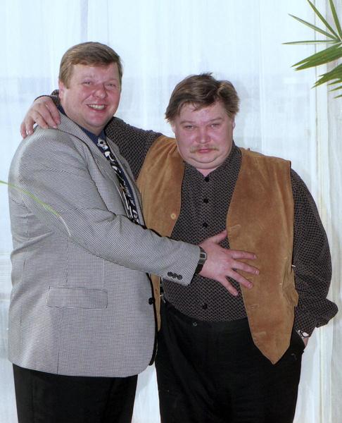 Михаил Вашуков и Николай Бандурин
