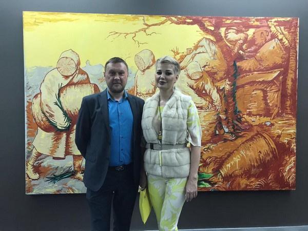 Мария Максакова вышла в свет вместе с другом Константином Дорошенко